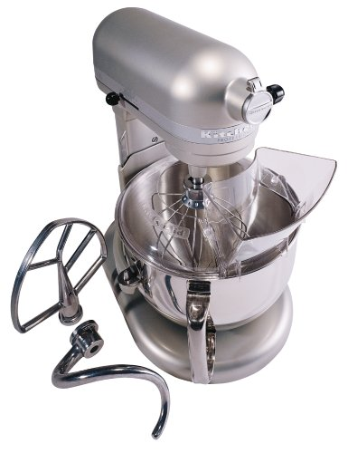 Kitchenaid Professional 600 Stand Mixer 6 quart, Nickel Pearl (Certified Refurbished) by KitchenAid