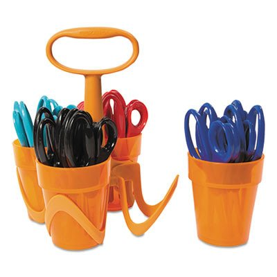 FSK1234677097J - Fiskars Pointed-tip Kids Scissors Classpack Caddy (5, 24 Pack) ()
