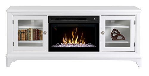 Dimplex Winterstein Electric Fireplace & Entertainment Center - Acrylic Ice Firebox