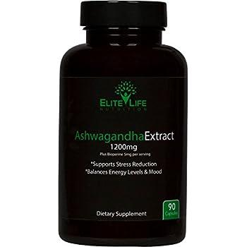 Amazon com: Brain Forza Organic KSM-66 Ashwagandha Root