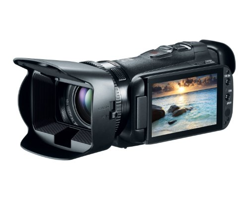 Canon VIXIA HF G20 HD Camcorder with 10x HD Video lens (30.4mm-304mm), 3.5 inch Touchscreen LCD, HD CMOS Pro and 32GB Internal Flash Memory (Certified Refurbished)