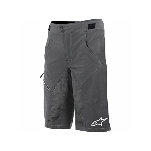Alpinestars Men's Outrider WR No Liner Short , Size 36, Dark Shadow/White by Alpinestars