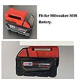 UOSXVC 10-Packs Battery Holders for Milwaukee 18V