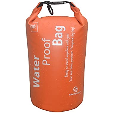 Freegrace Ultimate Lightweight Dry Sack - Dry Bags (New Orange, 5L)
