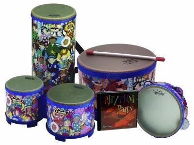Remo Rhythm Club Percussion Package with CD by Remo