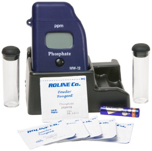 Milwaukee MW12 Phosphate Low Range Mini-Colorimeter, 0.00 - 2.50 ppm, 0.01 ppm Resolution, LCD Display ()