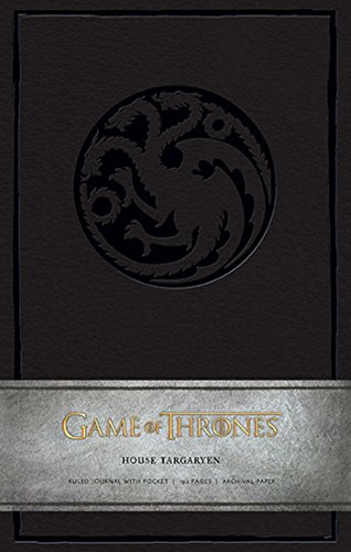 Game of Thrones: House Targaryen Hardcover Ruled Journal for sale  Delivered anywhere in USA