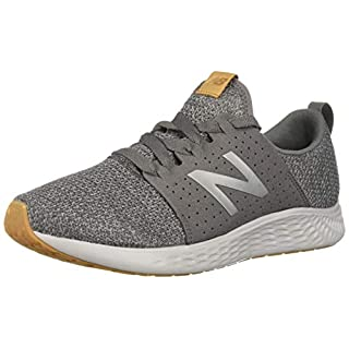 New Balance Men's Fresh Foam Sport V1 Running Shoe, Castlerock/Team Away Grey, 9.5 M US