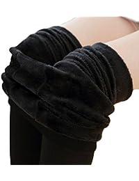 Winter Warm Fleece Lined Leggings High Waist Tights