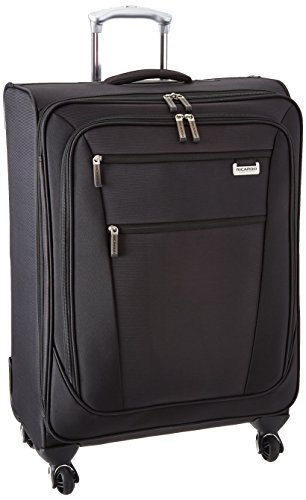 Ricardo Beverly Hills Del Mar 25-inch 4 Wheel Expandable Upright, Black, One Size by Ricardo Beverly Hills