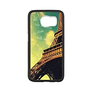 Chaap And High Quality Phone Case For Samsung Galaxy S6 -Eiffel Tower in Paris-LiShuangD Store Case 5