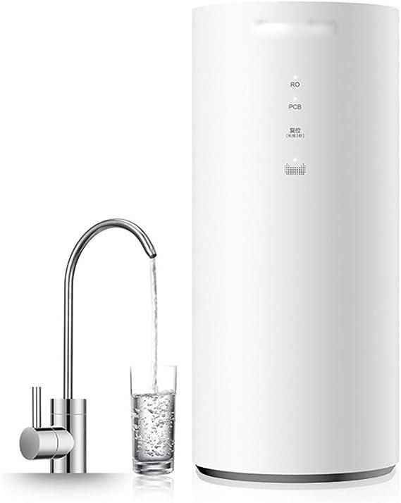 LJHA guolvqi Filtro de ósmosis inversa del purificador de Agua Cocina del hogar Que Bebe purificador de Agua del Grifo de la máquina del Agua Pura Blanco Filtro: Amazon.es: Hogar