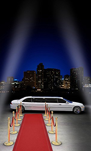 wallmonkeys-limousine-parked-peel-and-stick-wall-decals-wm132691-18-in-h-x-11-in-w