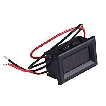 demiawaking A Zwei Drähte Digital Voltmeter: Amazon.de: Elektronik