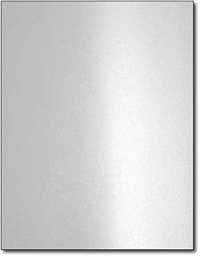 (Silver Metallic Paper for Laser Printers (40)