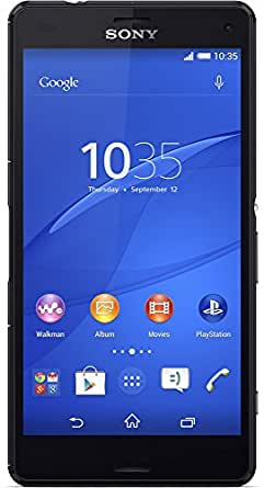 """Sony Xperia Z3 Compact D5803 16GB 4G LTE 4.6"""" Unlocked GSM Android Smartphone - Black -"""