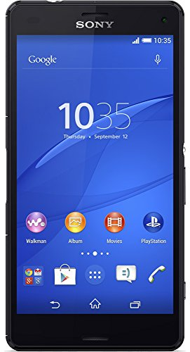 "Sony Xperia Z3 Compact D5803 16GB 4G LTE 4.6"" Unlocked GSM Android Smartphone - Black - International Version No Warranty"