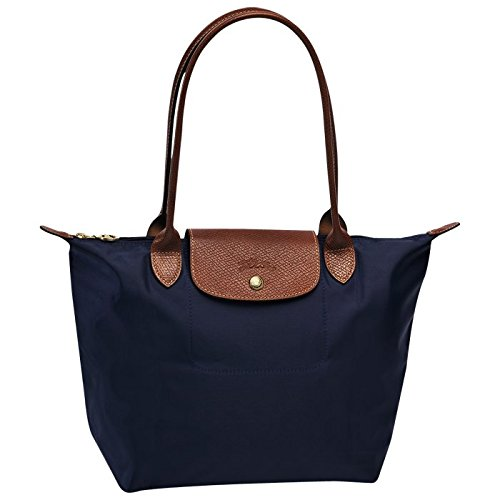 longchamp small tote bag l navy by longchamp paris le pliage 100 authentic original from. Black Bedroom Furniture Sets. Home Design Ideas