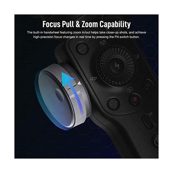 Zhiyun Smooth 4 Stabilizzatore Gimbal 3 Assi per Smartphone a 210g, Gimbal Stabilizzatore 3 Assi, Gimbal Smartphone Stabilizzatore, Colore Nero 2 spesavip
