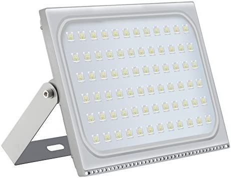 500W Led Flood Light, Missbee Thinner Lighter Outdoor Security Light, 55000Lm, Cold White 6000-6500K, IP67 Waterproof, Landscape Spotlights for Garage, Yard, Lawn and Garden