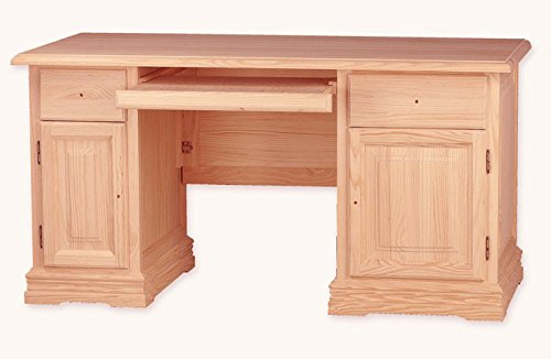 Muebles Natural - Mesa de Despacho, Escritorio de Ordenador, con ...