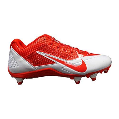 Zapatillas De Fútbol Nike Hombres Alpha Pro Td (13 D (m) Ee. Uu., Naranja / Blanco)
