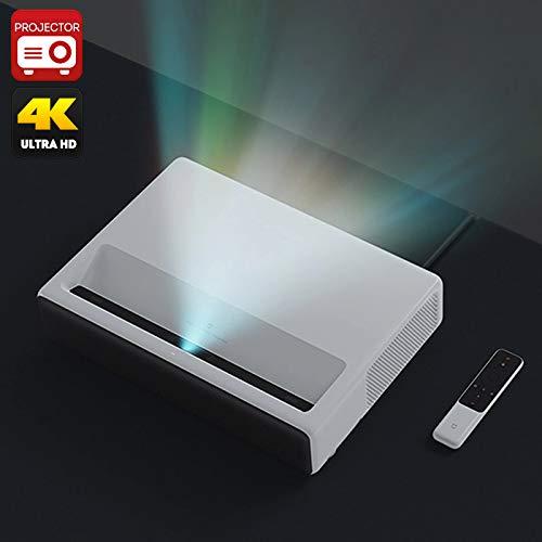 Generic Xiaomi Mi Laser Projector - 1080p Native Resolution, 4K Support, MIUI TV, Quad-Core CPU, ALPD 3. 0 Laser Light Source, 5000 lumen