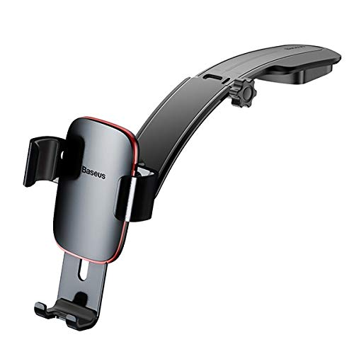 (Metal Age Gravity Car Mount(Connecting Rod Type) Compatible with Samsung Galaxy M40, Xcover 4s, Compatible with Google Pixel 3a XL, Pixel 3a, for HTC U19e, Desire 19+ (Black))