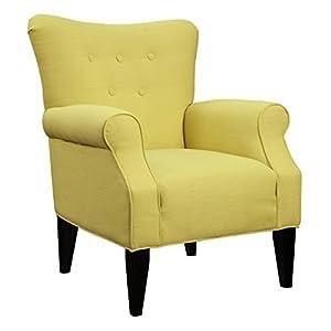 emerald home u3600501 lydia accent chair citrine