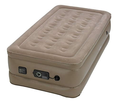Insta-Bed Raised Air Mattress with Never Flat Pump - Twin by Insta-Bed