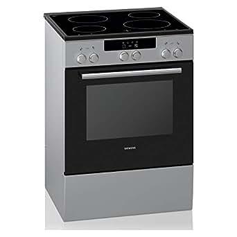 Siemens 60X60 cm 4 Ceramic Zones Ceramic Electric Cooker, Silver - HK5P10050M