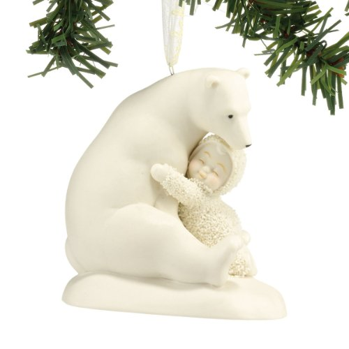 "Department 56 Snowbabies ""Big Bear Hug"" Porcelain Ornament, ()"
