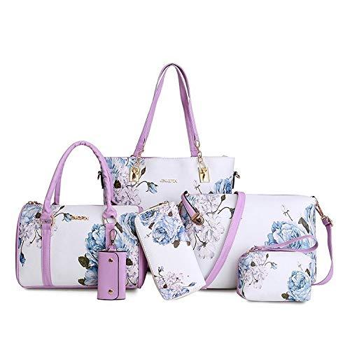 Tracolla Donna Spalla A Borsa Purple Bag Black Shopping LUCKYCCDD Borse Mano Borsa Borsa OE65Bq