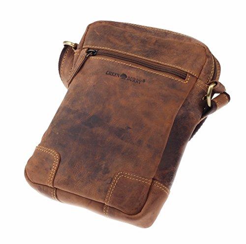 Greenburry Vintage borsa a tracolla pelle 20 cm