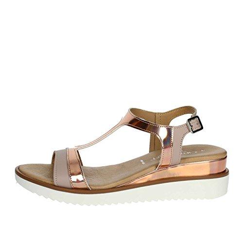 qxX6pXw5v Cinzia Femme Poudre Rose 003 PF1670 Sandale Soft S0fqwx