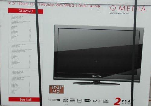 Qmedia QLC-3252C- Televisión, Pantalla 32 pulgadas: Amazon.es ...
