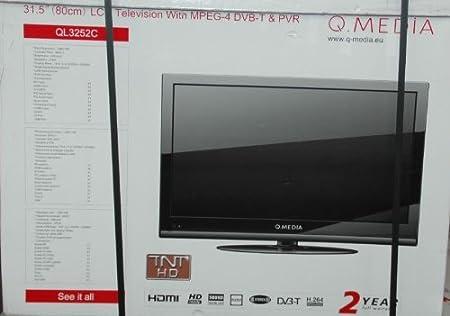 Qmedia QLC-3252C- Televisión, Pantalla 32 pulgadas: Amazon.es: Electrónica