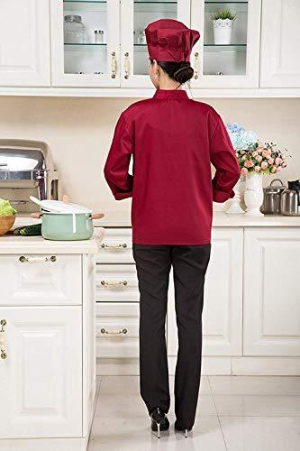 Elegante Double Giacca Collo Lunga Breasted Unisex Grazioso Da Cucinare Coreana Rose Accogliente Donna Di Manica Invernali Outwear Lavoro Moda Stlie Autunno Giacconi Outerwear nbsp; Cappotto Monocromo F75xqAwd