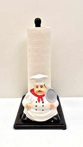 Chef Paper Towel And Napkin Holder (Ceramic Paper Towel Holder)