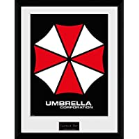 Resident Evil Framed Collector Poster - Umbrella (16 x 12 inches)