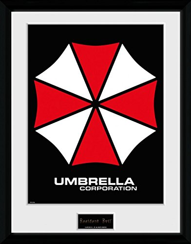 Umbrella Gerahmtes Poster F/ür Fans Und Sammler 40 x 30 cm 1art1 100260 Resident Evil