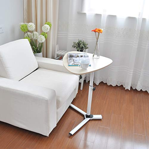 Sodoop Coffee Magazine Table, Household Adjustable Raised and Lowered Lazy Laptop Desk Sofa End Table Side Table Snack Tray,Light Stand,Telephone Table