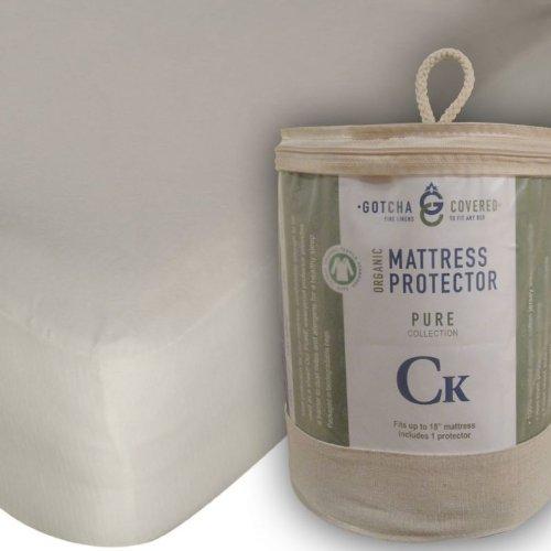 Pure Collection Organic Mattress Protector - Crib 28x52 ()