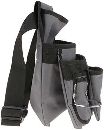 joyMerit キャンバスヘビーデューティ防水ストレージバッグツールベルトポーチメンテナンスパッケージ