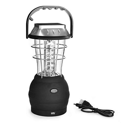 Xgyb Emergencia manivela Solar Linterna Recargable LED lámpara de luz de Carga Potente antorcha para Acampar al Aire Libre