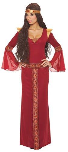 Guinevere Costume Medieval (Women LG (12-14)- Womens Renaissance/Medieval Guinevere)