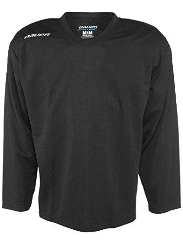 Bauer 200 Series Practice Jersey - Senior (Black, Medium)