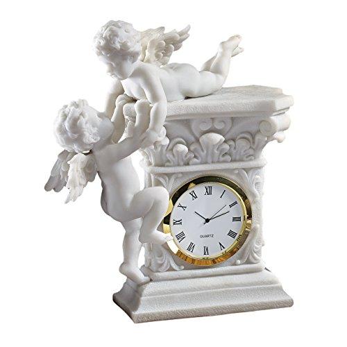 Design Toscano Baroque Twin Cherubs Desktop (Baroque Cherub Clock)