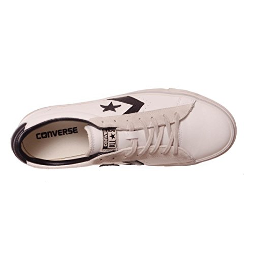 converse pro leather vulc ox white black 42,5