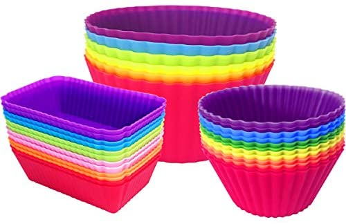 Silicone Cupcake Non Stick Reusable Dividers product image